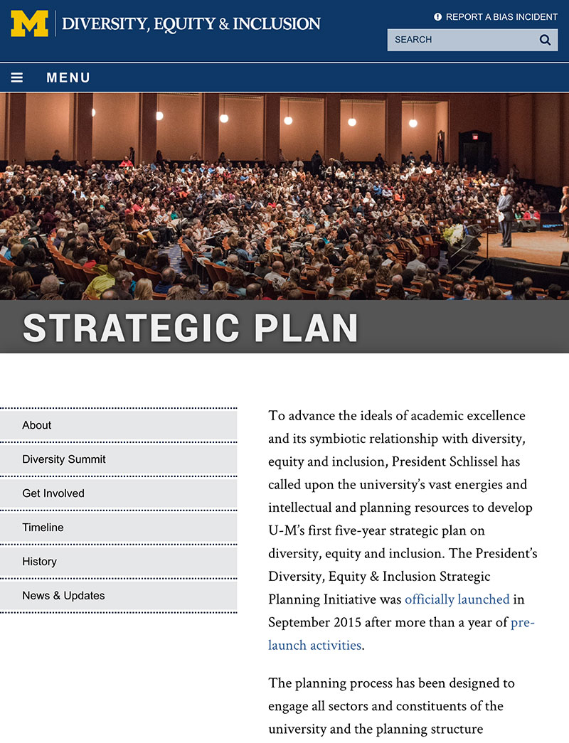 Tablet - Strategic Plan