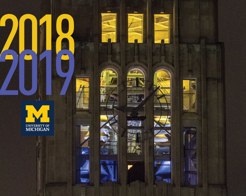 University Of Michigan Calendar 2020 Order Products | Michigan Creative